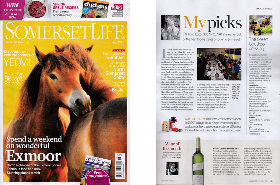 Somerset Life - May 2015
