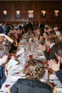 people at table portrait - small size
